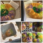 King cakes galore were ordered made sold an eaten this year!