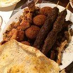 Arabesque family platter