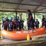 Charla previa al rafting