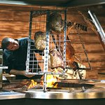 Our meats are Skilfully slow cooked over the traditional wood fired Parilla and Asador grills