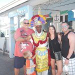 We have been coming to Freeport for years and we always stop by to say hello to our friend Hersc