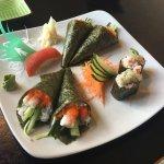 Beautiful Sushi plate (Feb 2017)