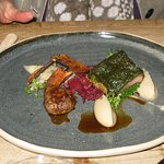 Herb-crusted hogget