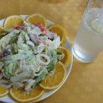 De Baga Deck seafood salad