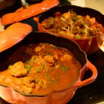 Murgh Tariwala & Kadhai Gosht with curry