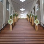 Grand staircase decor