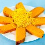 Sweet Slices of Mango cake