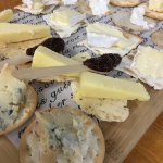 Cheese tasting for four.