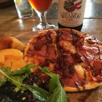 Pizza and roast potato lunch special
