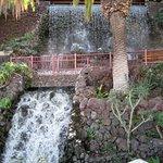 Wasserspiele in den Jardines Taoro