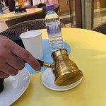 Turkish Coffee and cupcake