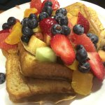 Early Bird Fruited French Toast
