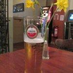 Lovely pint of Amstel