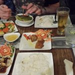 Full meal and drinks for under £10 GBP