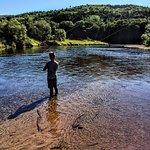 Seal pool, Margaree river.