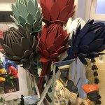 Wooden King Proteas
