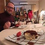 Tiramisù e tortino al cioccolato