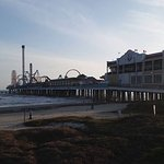 Pleasure Pier from the Seawall