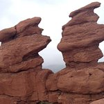 Beautiful formations in Garden of the Gods.