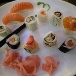 Great lunchtime sushi buffet