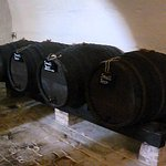 The cellar: small (weak) beer for the servants.