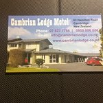 Cambrian Lodge Motel Foto
