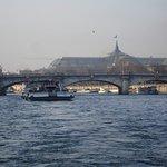 Batobus service cruising the River Seine.