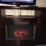 Fake fireplace/room heater