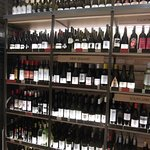 Some of the wines for sale