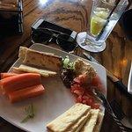 Humus plate