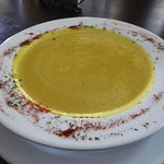 split pea and pumpkin soup