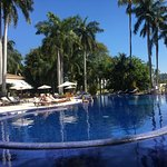 The pool at Casa Velas Resort, so beautiful and relaxing.