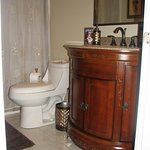 Bathroom for the Winchester room, tub and shower combined