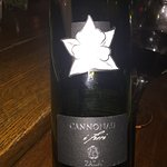 """This is the Sardinian red wine, """"Cannonau"""""""