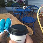 Great coffee, friendly service , opened early, peaceful surroundings....great start to the day i