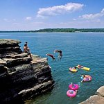 Located on Greers Ferry Lake for all lake activities