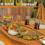 Wild foods paired with wine at Wild Earth