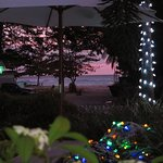 Worthing Beach at sunset! Photo taken while at Stream Restaurant.