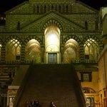 Il Duomo di Amalfi by night