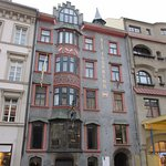 Alt Insprugg one of the historical structures in the Maria-Theresien-Strasse.