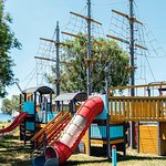 The epic pirate ship playarea