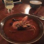 Seafood soup. AMAZING.