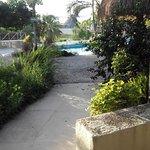 Poolzugang von Zimmer-Terrasse
