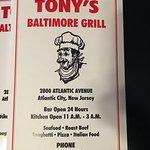 Billede af Tony's Baltimore Grill