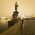 Charles Bridge is within a 5 mins walk from the Design Hotel Neruda
