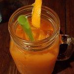 Fresh Apple, carrot, pineapple and lemon juice