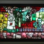 Peadar Lamb's 1916 Stain Glass Panel