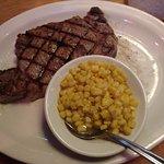 Steak & corn