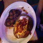 Kid's steak meal