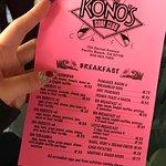 Foto de Kono's Cafe